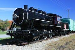 поезд Хемпшира новый старый стоковые фотографии rf