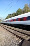поезд швейцарца Стоковые Фото
