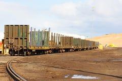 поезд экипажей Стоковое фото RF