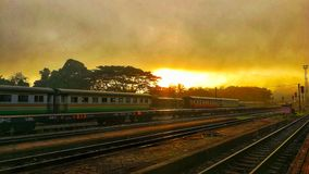 Поезд стоковая фотография rf