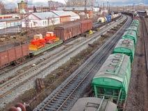 поезд 2 Стоковые Фото