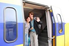 поезд 4 Стоковое Фото