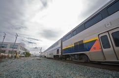 поезд berkeley amtrak Стоковые Фотографии RF