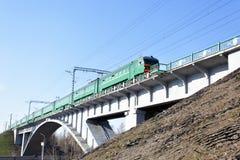 поезд brige Стоковое фото RF