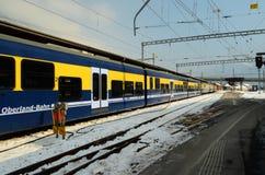 Поезд Interlaken Стоковое фото RF