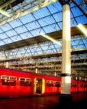поезд london s стоковое изображение
