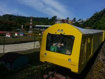 Поезд Miniatur Стоковое Изображение RF