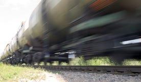 поезд railing природы металла предпосылки Стоковые Изображения RF