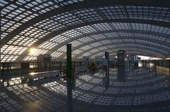 поезд t3 станции Пекин Стоковое Изображение RF