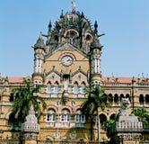 поезд victoria станции Индии Стоковая Фотография