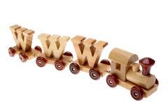 поезд www игрушки Стоковые Изображения