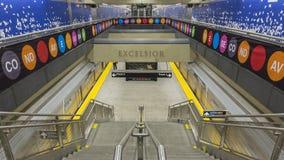 2 поезда в 96th станции Atreet Стоковые Фотографии RF