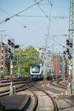 Поезда на станции Стоковая Фотография RF