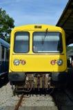 Поезда на станции Стоковое Изображение RF