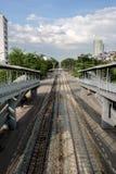 Поезда, один тип транспорта в Таиланде Стоковая Фотография RF