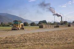 Поезда тросточки и мельница Mulgrave стоковое фото rf