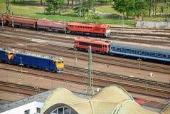 поезда Стоковые Фото