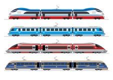 поезда бесплатная иллюстрация