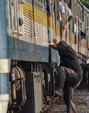Поезд без билетов Стоковые Фотографии RF
