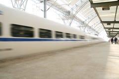 поезд быстрого движения Стоковое Изображение RF