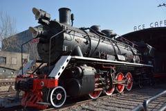 Поезд в зоне искусства Пекина 798 Стоковые Изображения RF