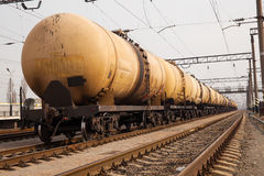 Поезд груза Стоковое Фото
