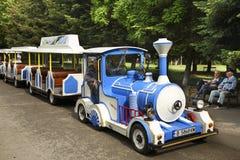 Поезд детей в саде моря Варна bulbed Стоковое Изображение RF