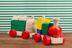 поезд игрушки певтера пем Стоковая Фотография RF