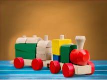поезд игрушки певтера пем Стоковые Изображения