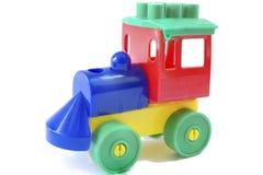 поезд игрушки деревянный Стоковые Изображения