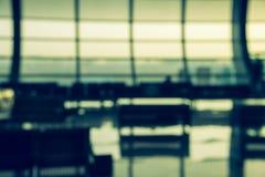 Поезд и крупный аэропорт Стоковое Изображение