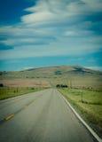 Поездка в большом небе Монтане Стоковые Фото