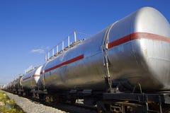 Поезд масляного бака Стоковые Фото