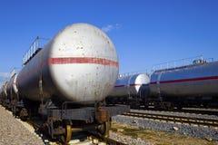 Поезд масляного бака Стоковые Изображения