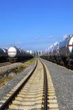 Поезд масляного бака Стоковое Изображение
