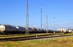 Поезд масляного бака Стоковое Изображение RF
