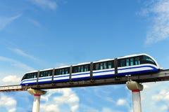 поезд монорельса Стоковая Фотография RF