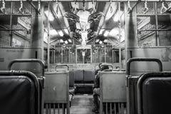 Поезд Мумбая внутрь Стоковые Фото