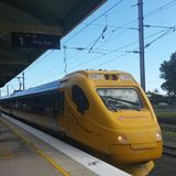 Поезд наклона Стоковая Фотография
