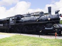 Поезд на исторических доме Casey Джонса & музее железной дороги в Джексоне, Теннесси Стоковое Изображение
