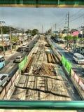 Поезд неба Бангкока Стоковые Изображения