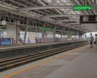 Поезд неба, Бангкок Таиланд Стоковые Фотографии RF