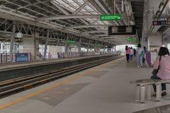 Поезд неба, Бангкок Таиланд Стоковое Фото
