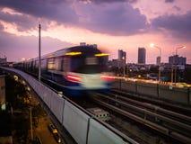 Поезд неба Стоковое Изображение RF