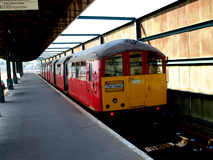 Поезд острова Уайт Стоковое фото RF