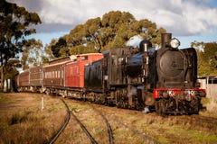 Поезд пара наследия в Maldon Стоковые Фото