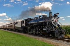 поезд пара Стоковое Фото