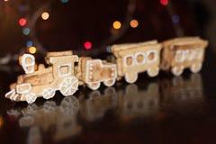 Поезд печений пряника Стоковое фото RF
