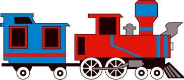 поезд потока Стоковые Изображения RF