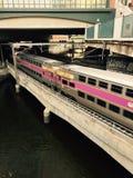 Поезд Провиденса стоковое изображение
